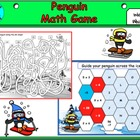 Penguin Sports Math Activity (Interactive)