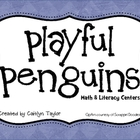 Penguins Math & Literacy Centers