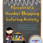 Percent Coloring Activity:  sales tax, percent of change,