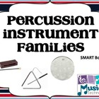 Percussion Families (Wood, Metal, Membrane) SMART Board Lesson