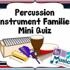 Percussion Instrument Families (Wood, Metal, Membrane) Pow