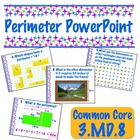 Perimeter PowerPoint - Common Core 3.MD.8