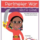 Perimeter War-A Word Problem Math Game - Aligned with CCSS