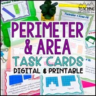 Perimeter and Area Task Cards for Differentiated Instruction