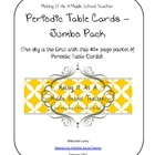 Periodic Table Cards ~ Jumbo Pack