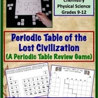 Periodic Table of the Lost Civilization - A Periodic Table