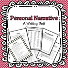 Personal Narrative Mini-Unit