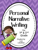 Personal Narrative Writing Packet for Primary Grades {Comm