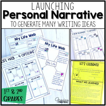 Personal Narrative Writing Workshop Unit for Common Core