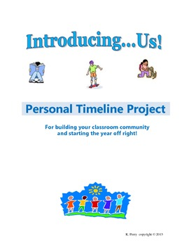 Introducing Us! Personal Timeline Project for Back-to-School