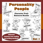 Personality People, Set 1 – Common Core ELA-based characte