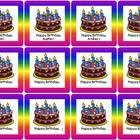 Personalized Calendar Birthday Inserts