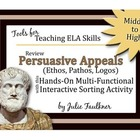 Persuasive Appeals (Ethos, Pathos, Logos) Human Sorts Review Game
