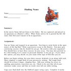 Persuasive Writing Assignment - Finding Nemo