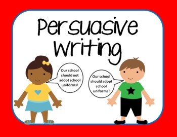 Persuasive Writing Bulletin Board, Graphic Organizer, and Rubric