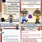 Persuasive Writing PDF 64 Pages with Task Cards