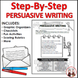 Persuasive Writing Unit Lesson Plans with Teacher Examples