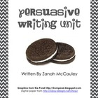 Persuasive Writing Unit Packet