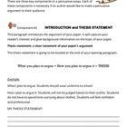 Persuasive essay explanation and rubric