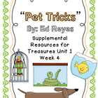 Pet Tricks- Supplemental Resources for Treasures First Grade