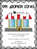 Pet Unit Informative Writing, Journal Prompts, and Project Ideas