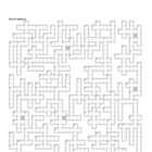 Petit Prince (Little Prince) Lesson Plan Giant Crossword P