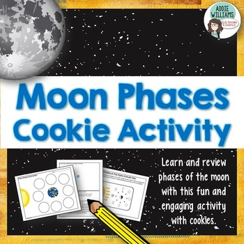 Phases of the Moon Cookie Activity - FREE