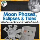 Phases of the Moon, Eclipses & Tides - Interactive Noteboo