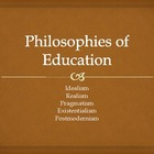 Philosophies of Education and Related Theories of Learning