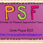 Phoneme Segmentation Activities {Dibels Skills Practice}