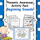 Phonemic Awareness Activity Pack- Beginning Sounds