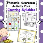 Phonemic Awareness Activity Pack- Counting Syllables