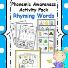 Phonemic Awareness Activity Pack- Rhyming Words