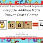 Phonemic Awareness Sound Segmenting & Addition Pocket Char