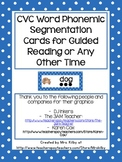 Phonemic Segmenting Cards for Primary Grades (phoneme segm
