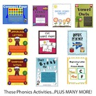 Phonics Activities Pack - 50 Phonics Activity Centers (459 Pages)