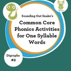 Phonics Intervention for Special Education: One Syllable W