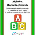 Phonics Advantage Alphabet Beginning Sounds -Reinforcing L