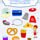 Clipart - Phonics Blends {Mixed}