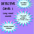 Phonics Detective Task Cards 1 Long Vowel Sounds