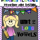 Phonics Fluency Practice and Assessments-Unit 2 Long Vowels
