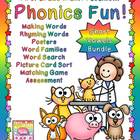 Phonics Fun: Short Vowels - The Bundle!