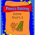 Phonics Matching Game (Short I Sound)