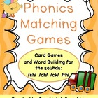 Phonics Matching Games