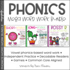 Phonics Mega Bundle - Phonics Lessons, Review, and Practice