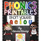 Phonics Printables- Short Vowels (Common Core Aligned)