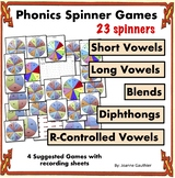 Phonics Spinner Games