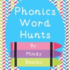 Phonics Word Hunts - All Skills Included