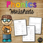Phonics Worksheet Pack First Grade Second Grade