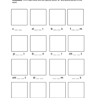 "Phonics Worksheet  ""ar"" Sound"